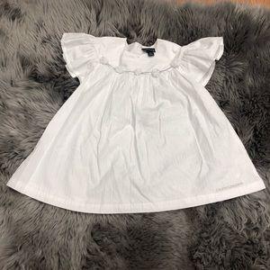 Calvin Klein Jeans | Girls White & Silver Shirt